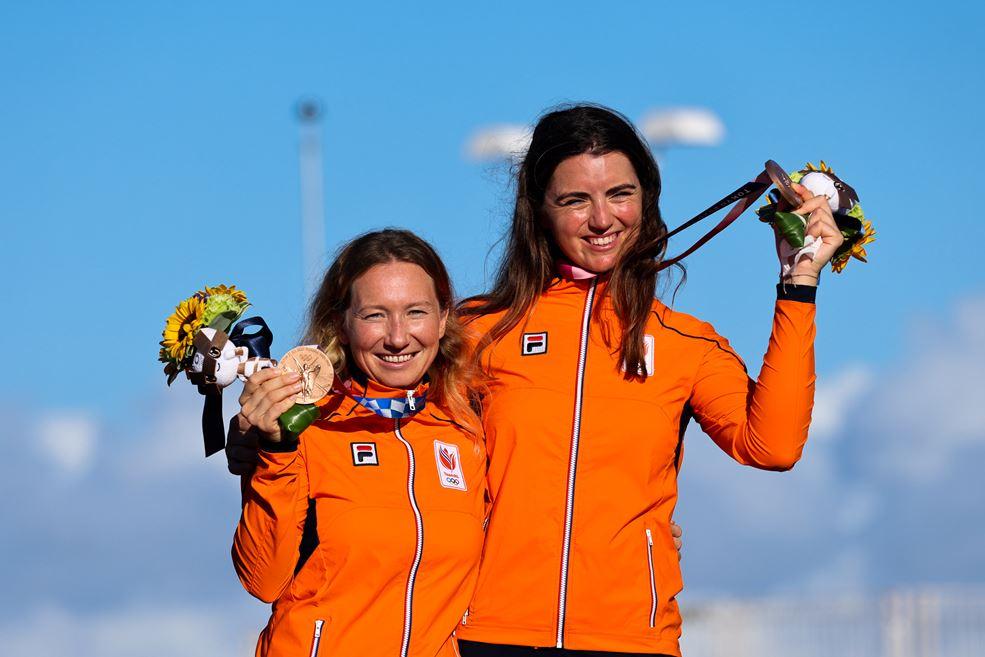 Annemiek Bekkering en Annette Duetz brons op Olympische Spelen