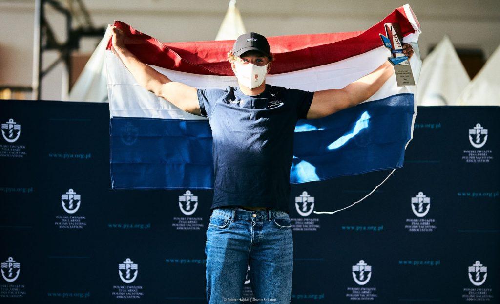 Paul Hameeteman Wereldkampioen ILCA 7 U19