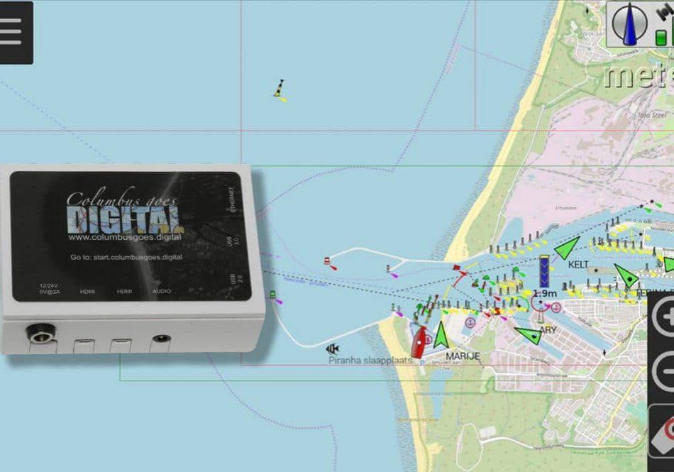 OpenCPN met Columbus goes digital