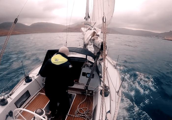 Solozeilen naar Faroer