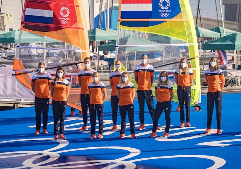 Update Olympische Spelen zeilploeg